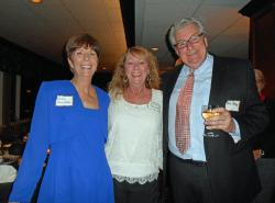 Kathy Carpenter, Joyce Schroth, Bob Kelley